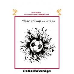 Fodbold med splat, Felicita Design