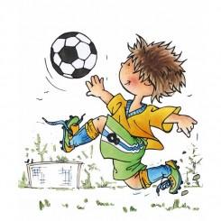 Stempel fodbold dreng MD - HM9471