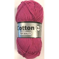 Cotton 8/4 Pink fv. 014