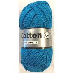 Cotton 8/4 Turkis fv. 515