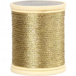 DMC metallic tråd Guld