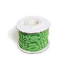 Elastiksnor Grøn 1,2 mm x 25 m