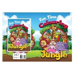 Fun time Jungle malebog