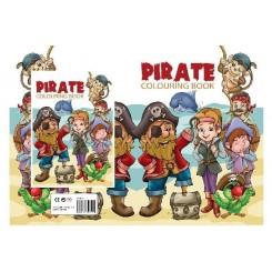 Pirater  malebog