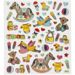Baby suff stickers 1 ark