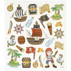 Pirat stickers 1 ark