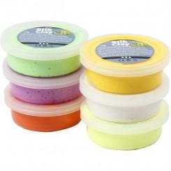 Silk Clay Påske farver 6 stk