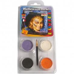 Sminkesæt halloween heks