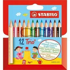 Stabilo Trio Thick mini 12 farver