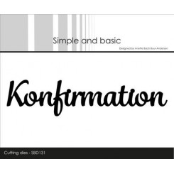 Konfirmation dies, Simple and basic