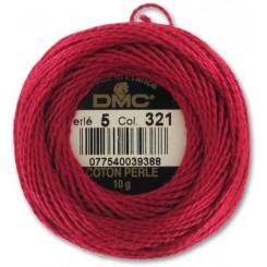 DMC Perlegarn Rød 321-5