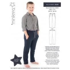 Minikrea Pull up pants 2-14 år