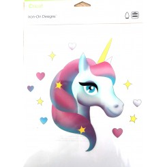 Unicorn strygemotiv A4 ark