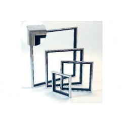Svæveramme silverlook 18 x 24 cm