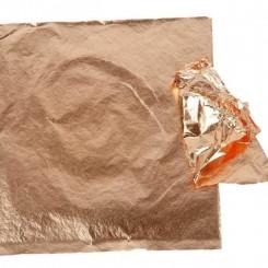 Bladmetal Kobber 16 x 16 cm