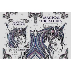 Magical Creatures malebog 32 sider