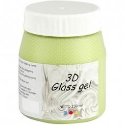 3D Glas gel 250 ml, Green