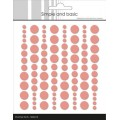 Enamel dots, Fresh Peach SBA015