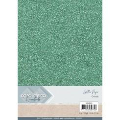 Glitter karton 6 ark fv. Ocean