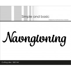 Navngivning dies, Simple and basic