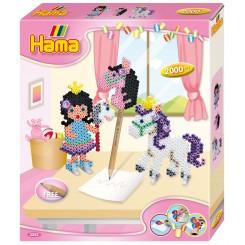 Hama midi gaveæske Pony leg