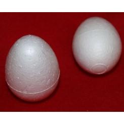 Styropor æg 5 stk x 4,5 cm