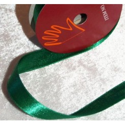 Satinbånd flaskegrøn, 6 mm x 10 m