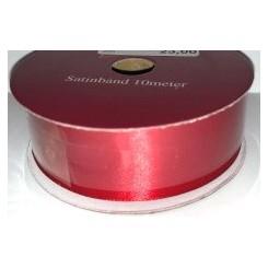 Satinbånd Rød 10 mm x 10 m
