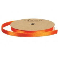 Satinbånd Orange 10 mm x 10 m