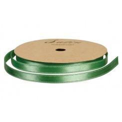 Satinbånd L. Grøn 6 mm x 10 m