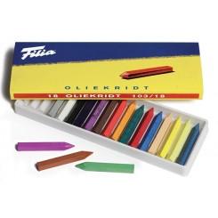 Filia oliekridt 18 farver
