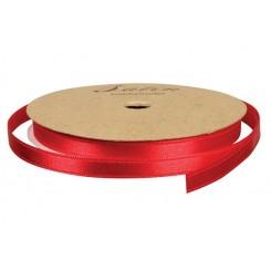 Satinbånd Rød 3mm x 10m