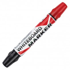 Whiteboard marker Sort + Rød