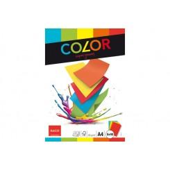 Kopipapir 40 ark x 5 farver