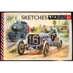 Sketches book A5 x 12 sider