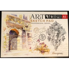 Sketches book A5 x 12 sider 140 g