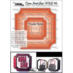 Ticket Square with stitch xxl 96