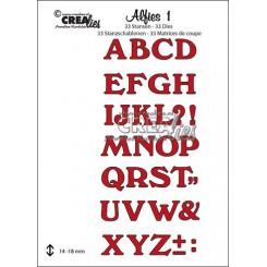 Stort alfabet dies CLalf01