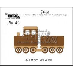 Train + vagon dies small nr. 43
