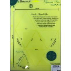 Papermania Pyramide box skabelon