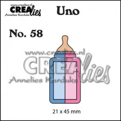 Sutteflaske dies nr. 58, Crealies