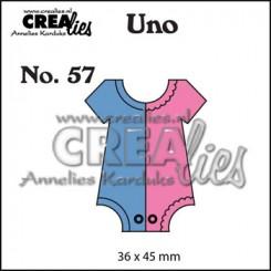 Onesie small dies nr. 57, Crealies