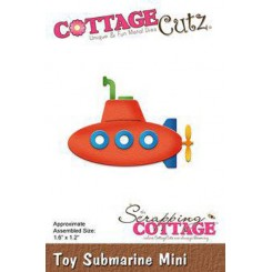 Toy Submarine mini, CottageCutz