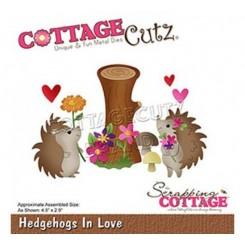 Hedgehogs in Love dies, CottageCutz
