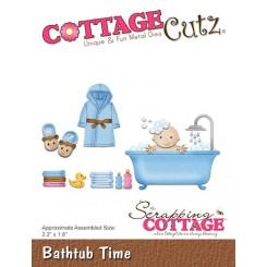 Bathtub Time dies, CottageCutz