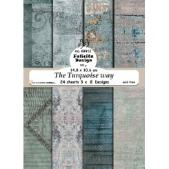 The Turquoise way, paper blok