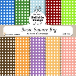 Basic square Big 15 x 15 cm