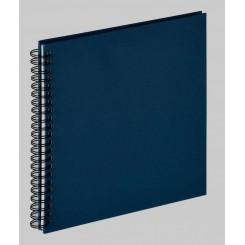 Scrapbook Blå 50 sider i sort