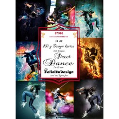 Street Dance toppers 7 x 10 cm