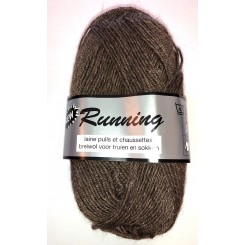 New running Brun fv. 794 Strømpe garn